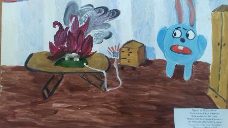 Конкурс рисунков студии изобразительного искусства по теме: «Безопасная безопасность»